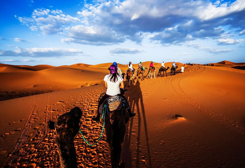 4 days from marrakech to merzouga