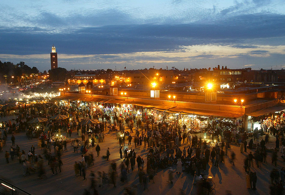 4 days from fes to marrakech desert tour