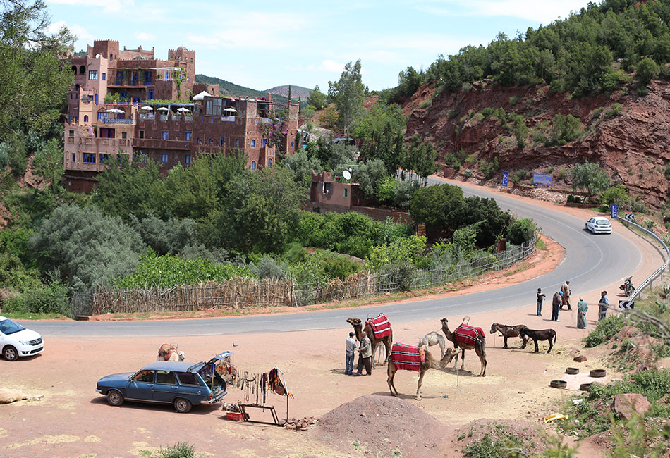 Day trip to Setti Fatma Ourika valley from marrakech
